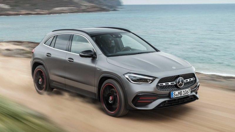 Mercedes-Benz a prezentat noul GLA