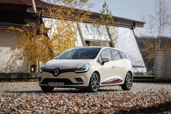 Test Drive Renault Clio Estate: Mic și practic