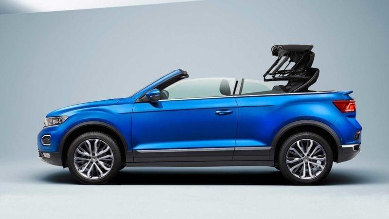 A început asamblarea SUV-ului decapotabil Volkswagen T-Roc Cabrio
