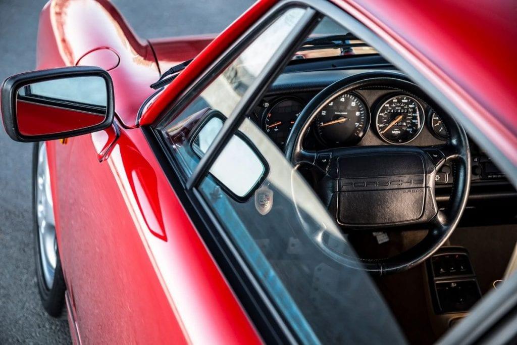 Test Porsche Carrera 964: Inconfundabil