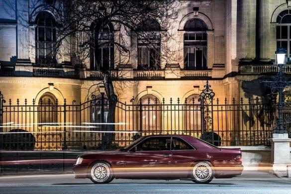 Test Mercedes-Benz 300CE-24 Lotec: Unică stea
