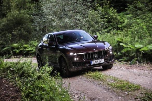Test Maserati Levante: Arhitectura luminii