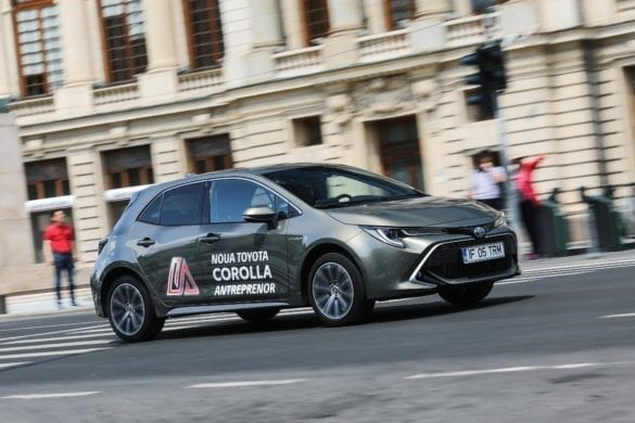 Test Toyota Corolla Hybrid: Gerovital