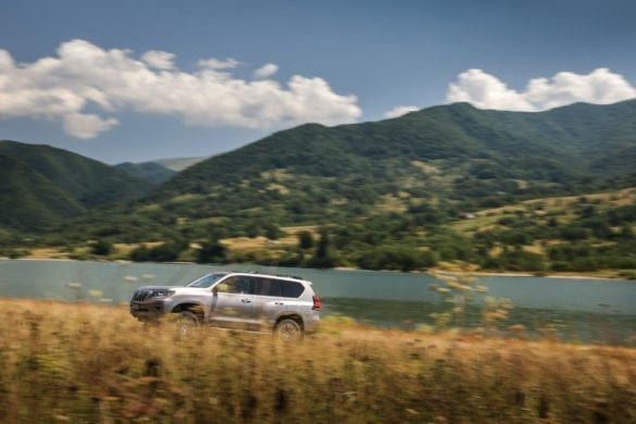 Test Toyota Land Cruiser: Gabarit