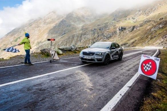 Record Skoda Octavia RS pe Transfăgărășan: Muntele nostru