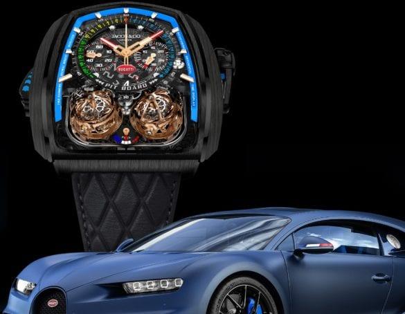 Jacob & Co Bugatti Twin Turbo Furios Bugatti