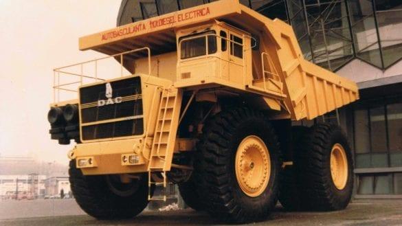 DAC 120 DE, camion de mare tonaj fabricat în România