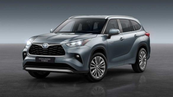 Toyota Highlander Hybrid vine în Europa