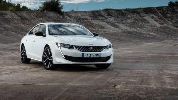 Peugeot 508 Hybrid, test EcoWheels