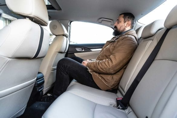 Honda Civic FL, test EcoWheels