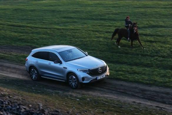 Mercedes-Benz EQC, test EcoWheels în România