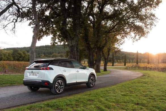 Peugeot e-2008, test EcoWheels