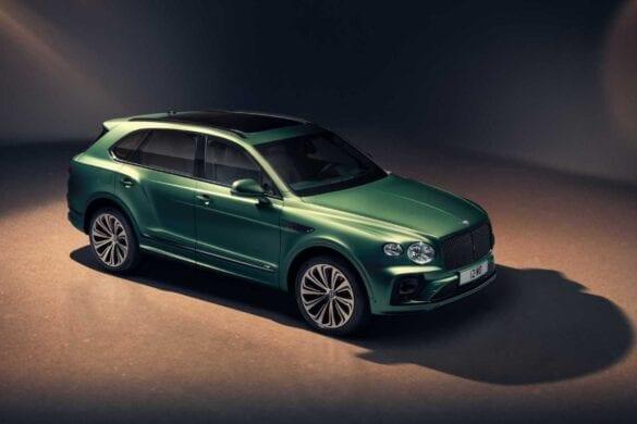 Noul Bentley Bentayga (facelift)