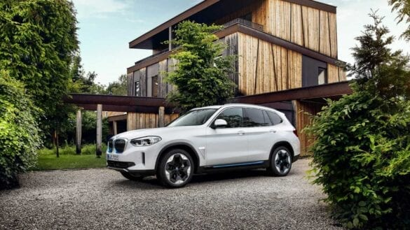 Noul SUV electric BMW iX3