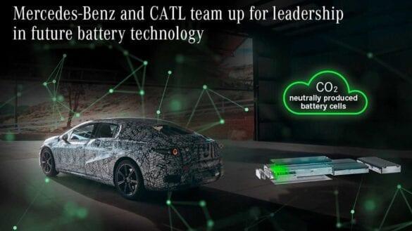 Mercedes-Benz, parteneriat cu CATL pentru EQS