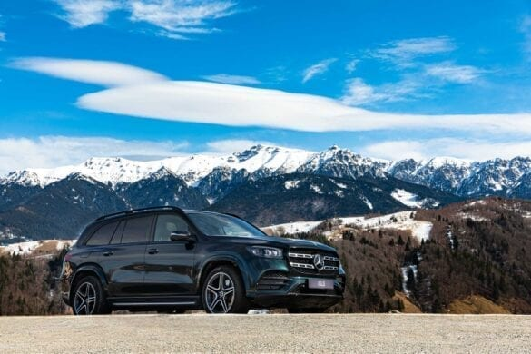 Test Mercedes-Benz GLS 4x4Wheels 26