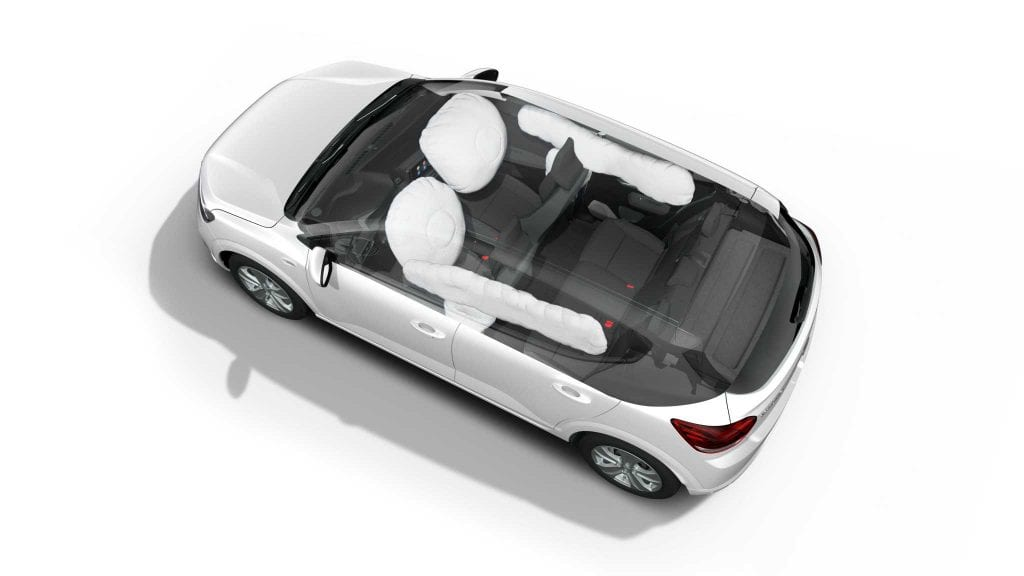 Noua Dacia Sandero airbaguri