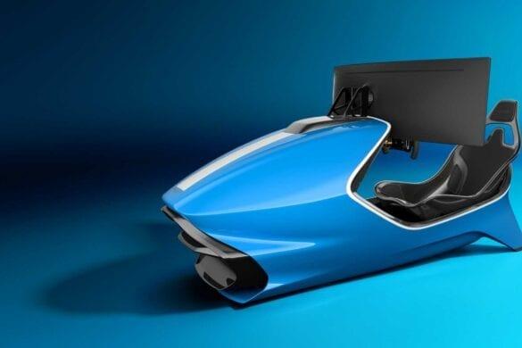 Aston Martin simulator racing