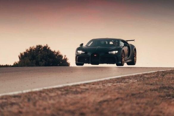 Bugatti Chiron Pur Sport la Nardo