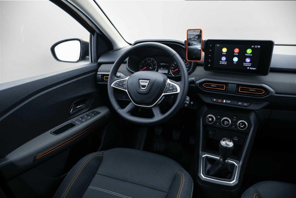 Dacia Sandero Stepway la interior