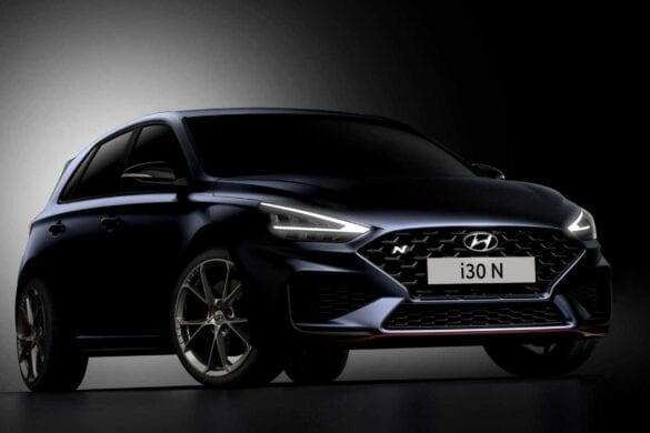 Hyundai i30 N facelift teaser