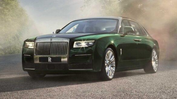 Noul Rolls-Royce Ghost Extended
