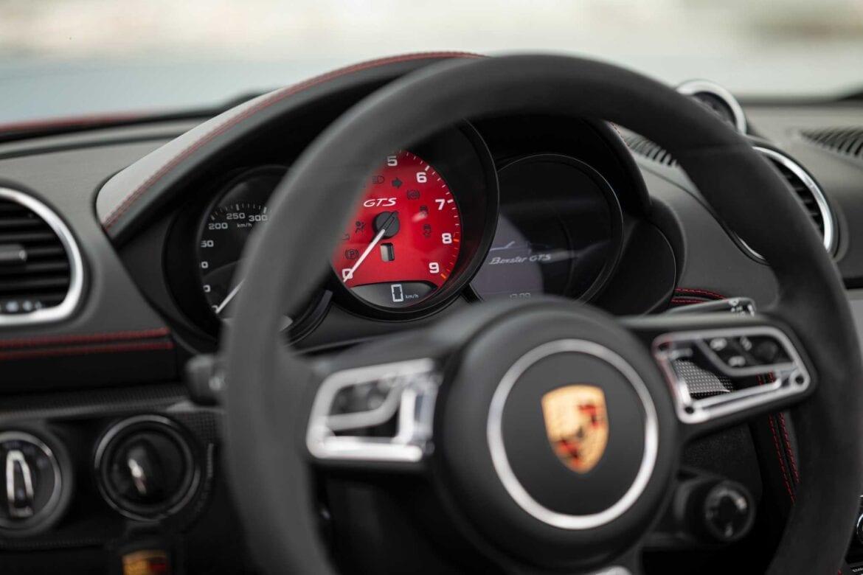 Test Porsche 718 Boxster GTS 4x4Wheels 26