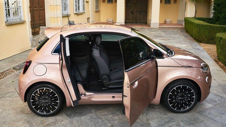 Fiat 500e 3+1