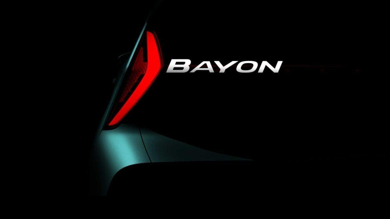 Hyundai Bayon SUV teaser