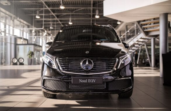 Mercedes-Benz EQV prețuri Romania