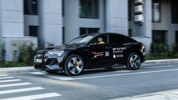 Test Audi e-tron Sportback 55 quattro